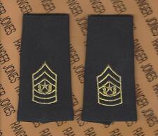 US ARMY COMMAND SERGEANT MAJOR CSM E-9 Dress Uniform Epulet set
