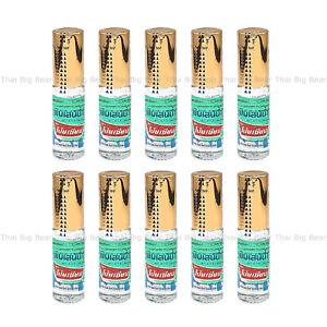 10 x 5cc POY SIAN Pim-Saen Balm Oil Roll-On Eucalyptus Oil Menthol