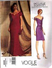 Vogue 2608 Rare! SEWING PATTERN Bellville Sassoon Designer Origianal Sz 14-16-18