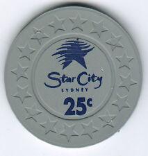 25c Star City - Sydney - Casino Chip