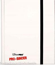 MTG Ultra Pro White Pro-Binder Album 9 Pocket Side Load holds 360 Cards