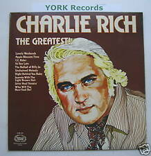 CHARLIE RICH - The Greatest - Excellent Con LP Record
