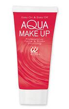 Aqua Make Up tubino rosso NUOVO - Styling trucco carnevale