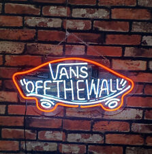 """""""V* Off The Wall """" Eye-catching Club Man Cave Neon Signs Neon Light 20""""x12"""""""