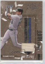 2004 Donruss Leather & Lumber Materials Bat /100 Aubrey Huff #138