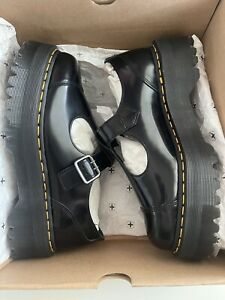 New In Box Dr. Martens Bethan Leather Platform Mary Jane Women's US Size10 UK8