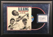 B.B. King Signed Framed Ole Miss Vintage Album Autographed Signature JSA COA