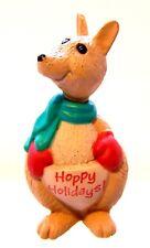 1990 New Hallmark Christmas Kangaroo Merry Miniature Never Displayed Qfm1653