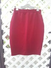 Unbranded Below Knee Solid Regular Size Skirts for Women
