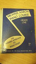 Libro De Curso Piano Michael Aaron 1: puntuación de música (L3)