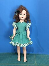 Vintage 19� Hard Plastic Walker Doll w Teeth Artisan Little Miss Gadabout Beauty