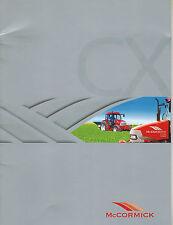"""McCORMICK CX75 CX85 CX95 CX105 73-102HP TRACTORS  BROCHURE """"NEW"""" X"""