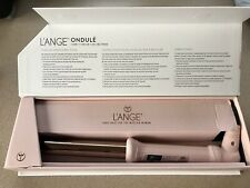 "NEW Lange Ondule Titanium Curling Wand Iron 1""  25MM L'ange Blush Rose Pink NIB"