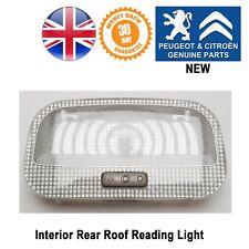 Citroen C4 Picasso Interior Roof Light Lamp Rear Card Reader Reading 9652262180