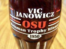 OSU, Heisman Trophy Winner VIC JANOWICZ 1950, 1 - 8 Oz Coke Bottle