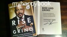 SIGNED Rise and Grind by Daymond John, autographed, new, Shark Tank, ABC TV