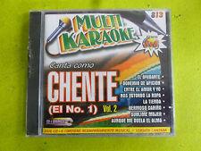 Karaoke CD & GRAPHICS VOL # 2 Vicente Fernandez KARAOKANTA