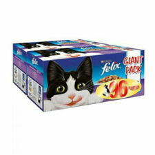 More details for felix mixed selection cat food in jelly 96 x 100g pouch giant pack
