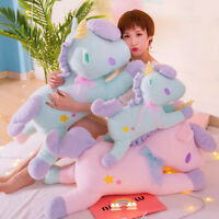 Soft Plush Jumbo Unicorn Toy Stuffed Horse Animal Doll GIft Pillow Cushion 38cm