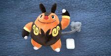 "Pokemon Center Black And White Plush Stuffed Toy DX - 8"" Chaobu / Pignite"