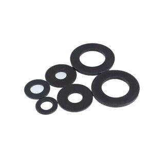 M2~M30 black flat gasket Screw flat washer Thickened metal washers 8.8 Grade
