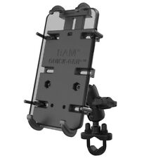 "RAM Handlebar / Rail 1"" Ball Short Mount with Quick-Grip XL Phone Holder"