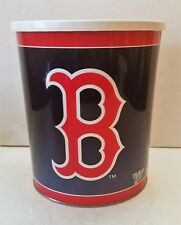 Boston Red Sox WinCraft Sports MLB Baseball Gift Tin with Plastic Lid Gift Fan