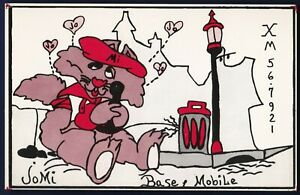 """QSL QSO RADIO CARD """"Mobile Jomi"""" Trois Rivieres/Quebec/Canada(Q37)"""