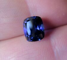 SOMPTUEUX SAPHIR VERNEUIL  BLEU  ROYAL  Taille COUSSIN 8x10mm..4,20cts..IF