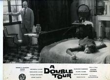 Photo Cinéma 23x29cm (1959) A DOUBLE TOUR Chabrol - Bernadette Lafont, Belmondo
