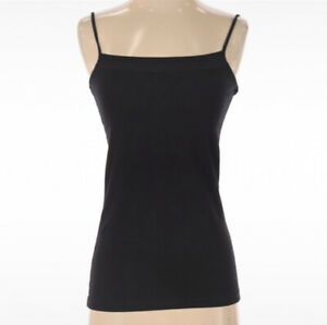 NWT Ann Taylor Factory Women's Size XS Camisole Tank Top Black