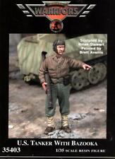 Warriors 1:35 Us Tanker with Bazooka Resin Figure Kit #35403