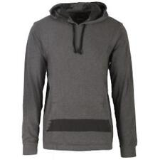 Nixon Swipe Knit Pullover Hoodie Charcoal Heather / Black X-Large (XL) *New*