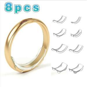 Silikon Ringgröße Ringverkleinerer Resizer Anpasser Eingefügt Schutz Verschluss