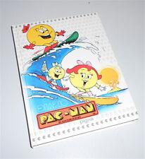 PAC MAN 1984 Namco Pigna italy school diary - diario scuola mint