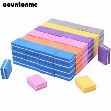 20pc Mini Nail File Buffer Sponge Square Nail File Block Buffing Sanding 100/180