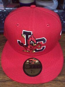 Johnson City Cardinals Home MiLB New Era 59Fifty Cap Hat Size 7 1/4 St. Louis