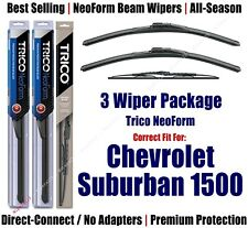 3pk Wipers Front/Rear NeoForm 1995-1999 Chevrolet Suburban 1500 - 16180x2/30130