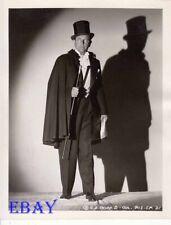 Warren Hull as Mandrake, The Magician Photo From Original Negative