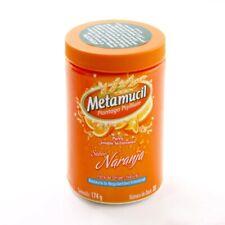 Metamucil Instant Soluble Fiber  Orange Flavor 6.13 oz   2 Pack bb 7/21