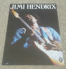 True Vintage JIMI HENDRIX WINTERLAND POSTER #8037 Jim Marshall photography 1987
