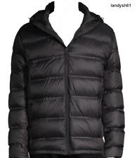Saks Fifth Avenue Men's Black DOWN Hood Coat Jacket Sz US 2XL NEW $350