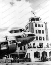 8x10 Print Delta Airlines Atlanta Municipal Airport 1940 #DEL
