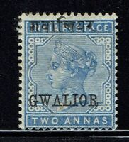 Gwalior SG# 3, Mint Hinged, Small Center Thin - Lot 043016
