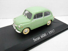 1/43 COCHE SEAT 600 1957 IXO RBA 1/43 METAL MODEL CAR SEISCIENTOS fiat