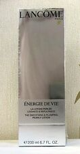 Lancome Energie De Vie Smoothing & Plumping Pearly Lotion 200ml BNIB