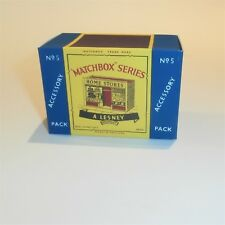 Matchbox Lesney Accessory Pack A5a Home Store Shop empty Repro C style Box
