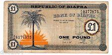 BIAFRA Billet 1 POUND ND 1967 P2 RARE BON ETAT