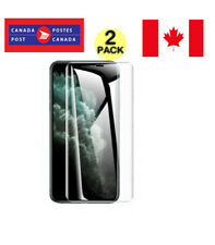 """2 PACK Soft Flexible TPU Screen Protector For """"iPhone 11 Pro /X/XS"""""""