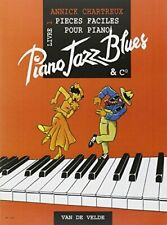 Piano Jazz Blues 1 - Piano by Chartreux Annick Book The Fast Free Shipping